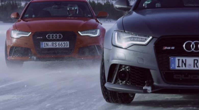 Audi Quattro Ice Track Challenges in Schweden