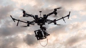 Alexa Mini drone Frankfurt Germany
