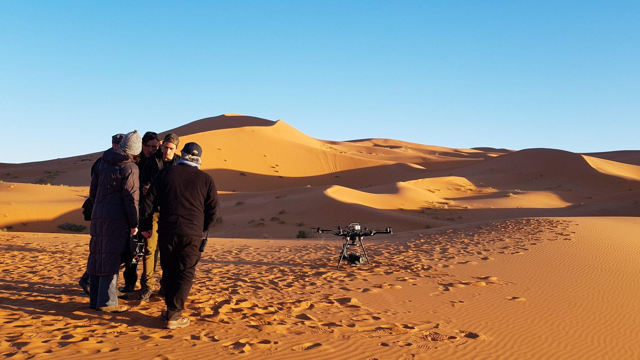 Drohne Marokko