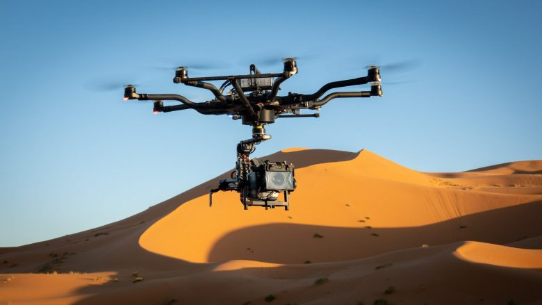 Alexa Mini Drohne erneut in Marokko