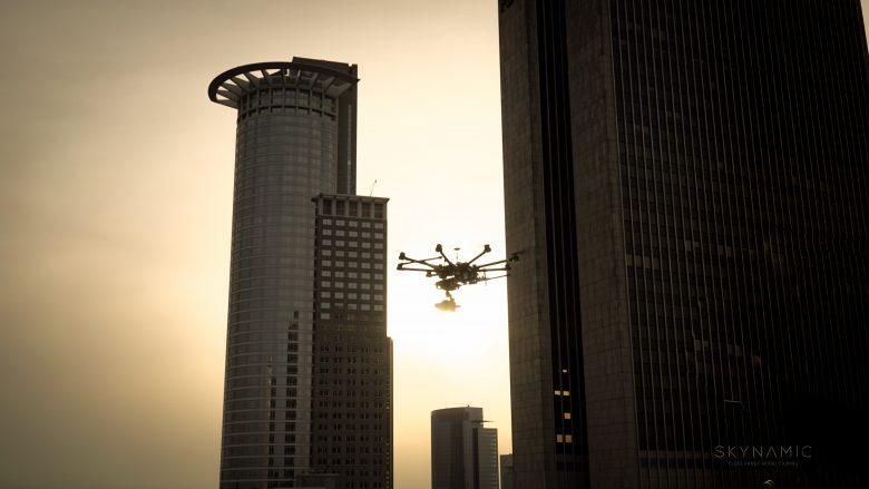 Frankfurt Luftaufnahmen in 4K