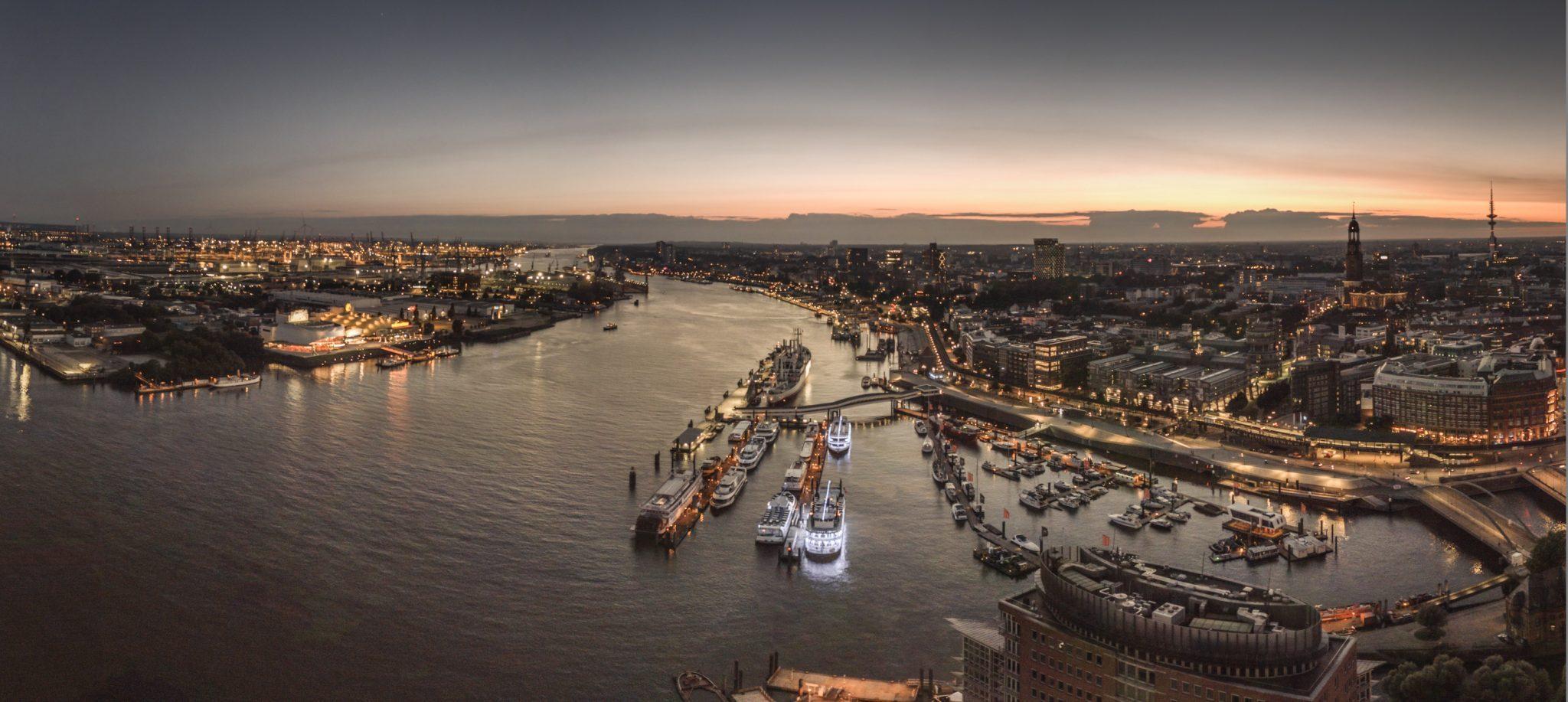 Drohne Hamburg Elbphilharmonie