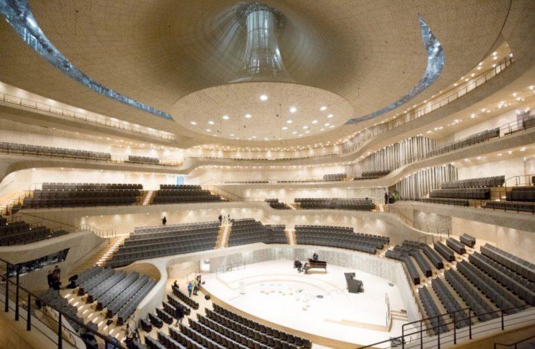 Drohnen in der Elbphilharmonie Hamburg