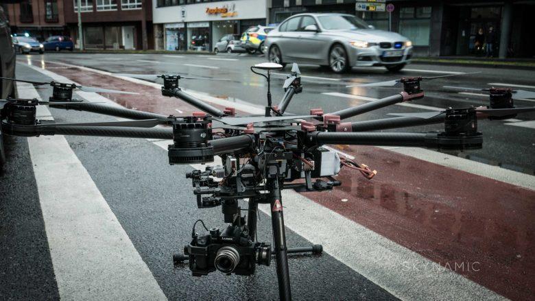Drohnen Einsatz in der Kölner Innenstadt