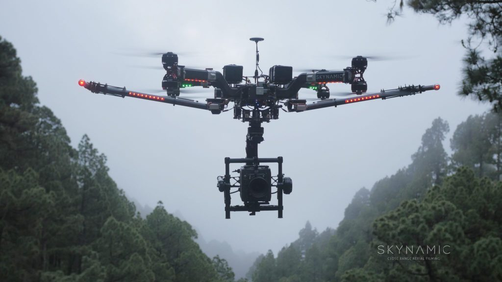 Oktokopter Drohne Berlin
