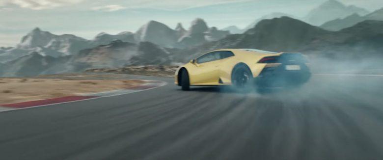 FPV Drone Action für Lamborghini