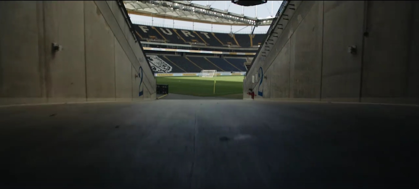 Commerzbank Arena Frankfurt Drohne