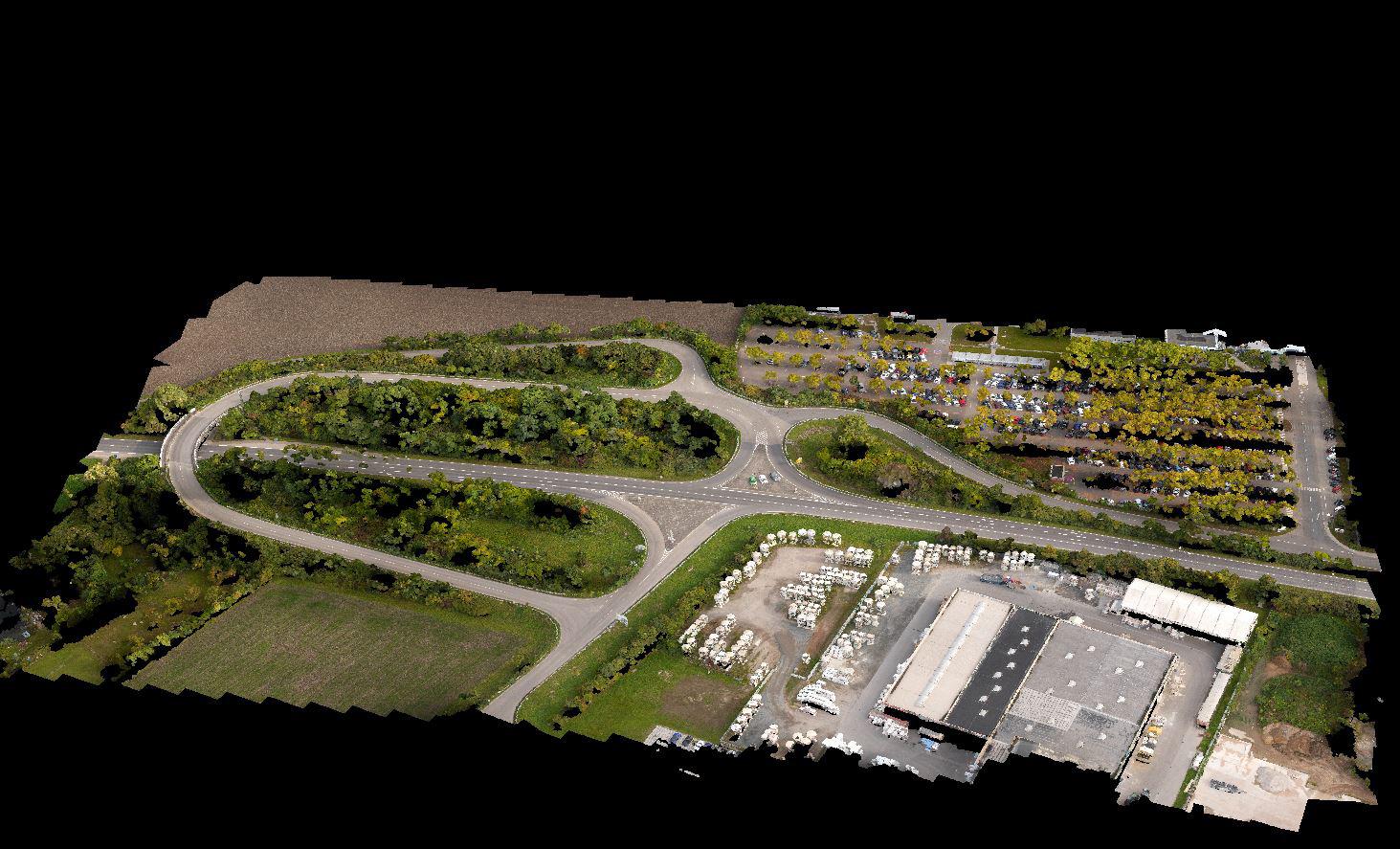 Drohne Mapping Photogrammetrie Vermessung Inspektion Drohne