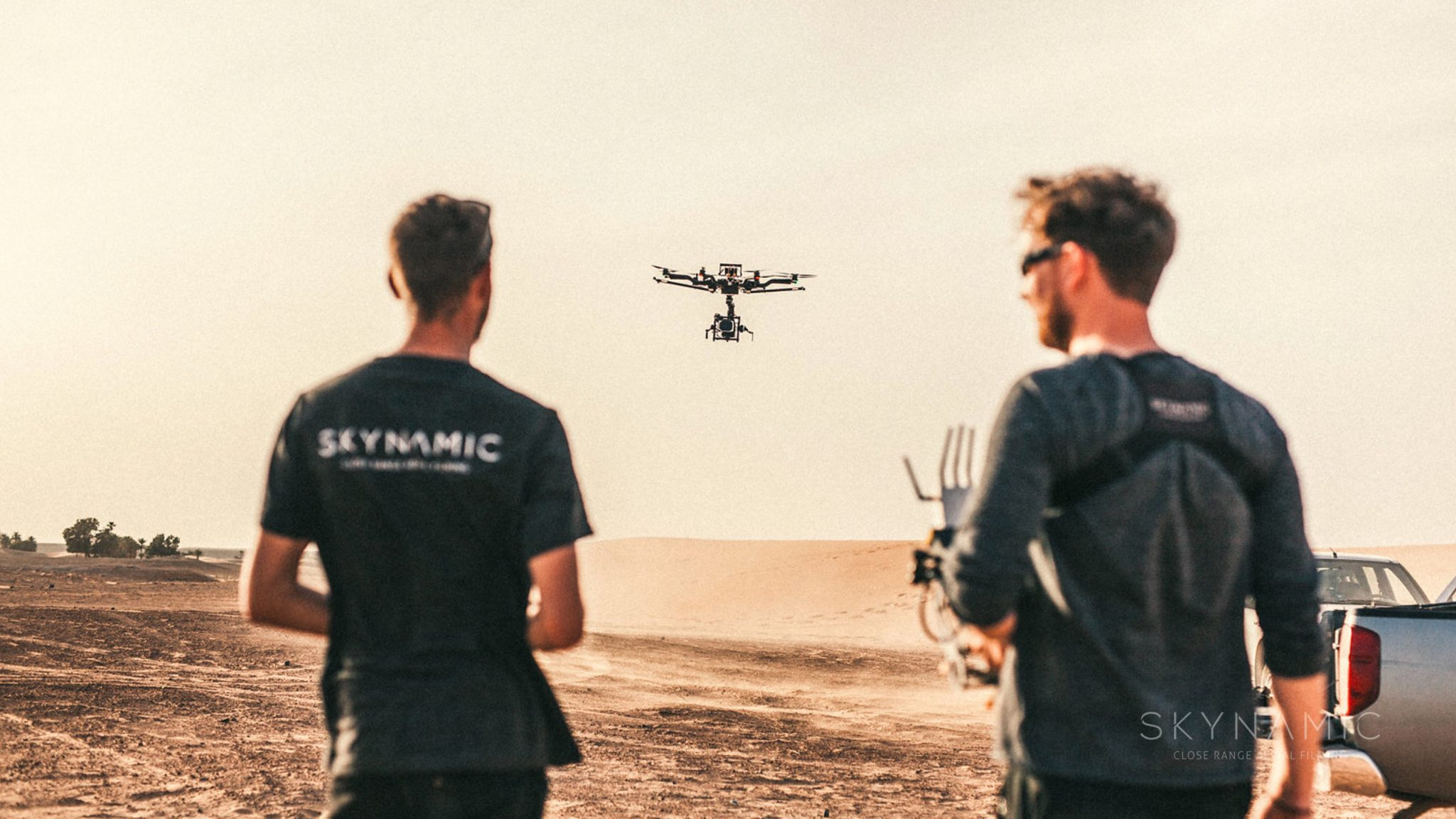 RED Drohne Alexa Mini Drone Team