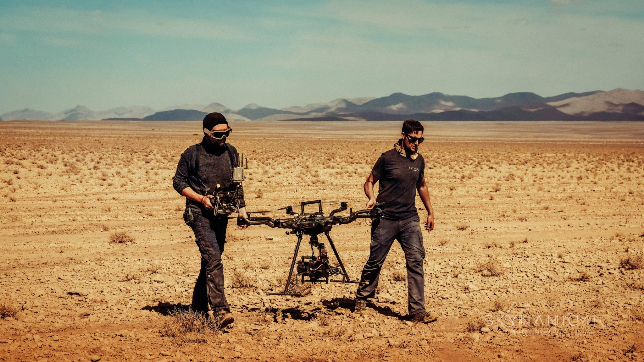 Alexa Mini Drohne Marokko