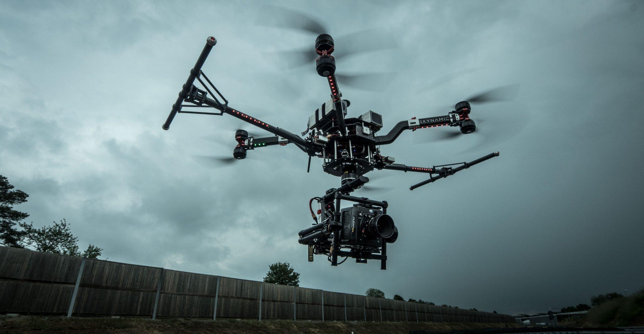 Drohne Berlin Oktokopter Alexa