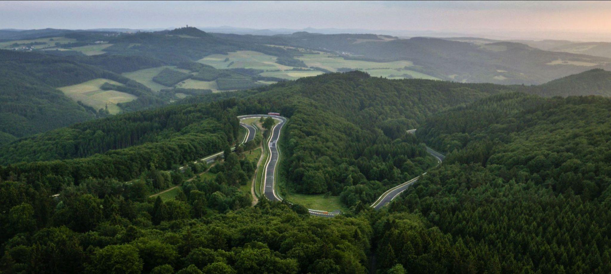 professionelle luftaufnahmen Drohne Nürburgring